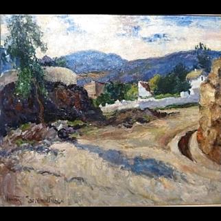 "Torremolinos, Spain, ca 1948, 23.5 x 27.5"" (Image size)"