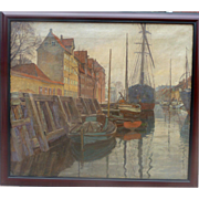 "Haven, 1923, 21x29"" (image only)"