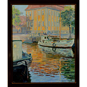"Gold Palace, Christianhaven, 1947, 31.5 x 21.5 "" (36 x 26"")"