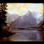 """Lake Koingssee,"" Austria, ca. 1935-39"