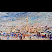 Place de la Concorde, Paris, ca 1925