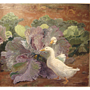 """Ducks in Cabbage Patch"" (30-Day Money Back Guarantee)"