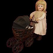 Antique Bahr & Proschild 585--8 RARE Bisque Toddler 20.5 inches