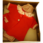 Vintage Ideal Shirley Temple 1950's Outfit Original Box