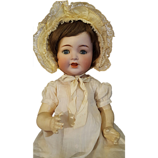 K star R 126 Character Baby Antique German 19 inch Adorable Life Size