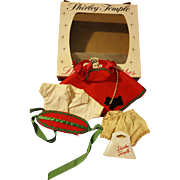 Vintage Ideal Shirley Temple 1950's Outfit 12 inch in an Original Box