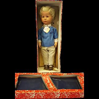 Kathe Kruse Jorgel Stoffpuppe Doll 1970's