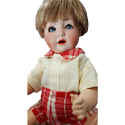 Antique Schoenau & Hoffmeister Doll Baby RARE 5/0X Mold Character Bisque 10.5 in