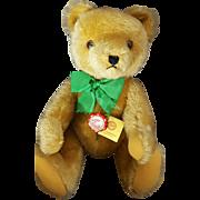 """Vintage 16"""" Hermann Cinnamon Brown Mohair Teddy Original Bear"""