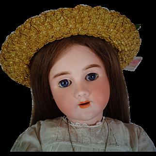HEINRICH HANDWERCK HALBIG Doll Large 31 inches Antique Bisque Head Comp Body