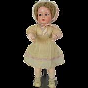 "23"" Old Antique German Kammer Reinhardt K*R Celluloid Composition Baby Doll  All Original"