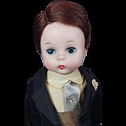 """Madame Alexander Kin Groom Doll 1957 Vintage Original Outfit 8"""" #377 BK Walker"""
