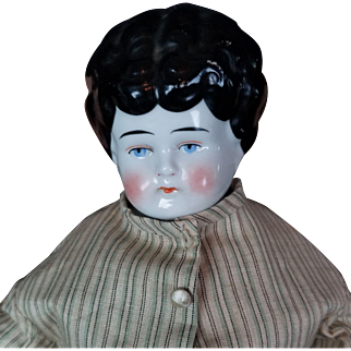 China Head Hertwig Antique German Doll Pet Name Dorothy Original Body 20 inch