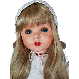 Twirp Twerp French Antique Doll Composition Head & Toddler Body Unis 247 23 in