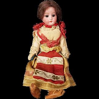 "Antique Doll German Bisque Head Dutch 6 1/2"" Max Oscar Arnold 250 Closed Mouth"