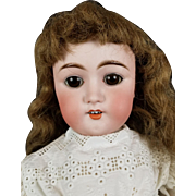 "Antique Doll German My Sweetheart 101 BJ & Co 24"" Original Body Brown Glass Eyes"