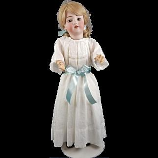 Antique Doll Heinrich Handwerck Simon Halbig Bisque Head Original Jointed Body!