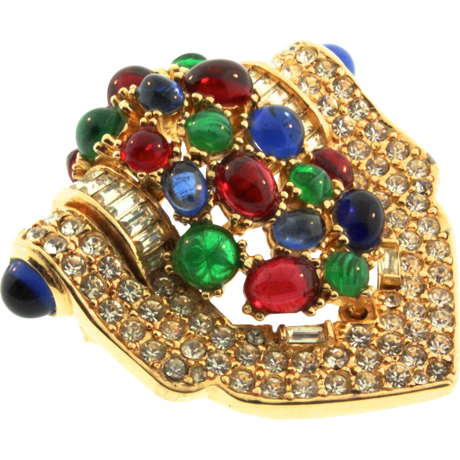 of jewel brooch s brooches pin hyderabad extravagant nizam maharaja the