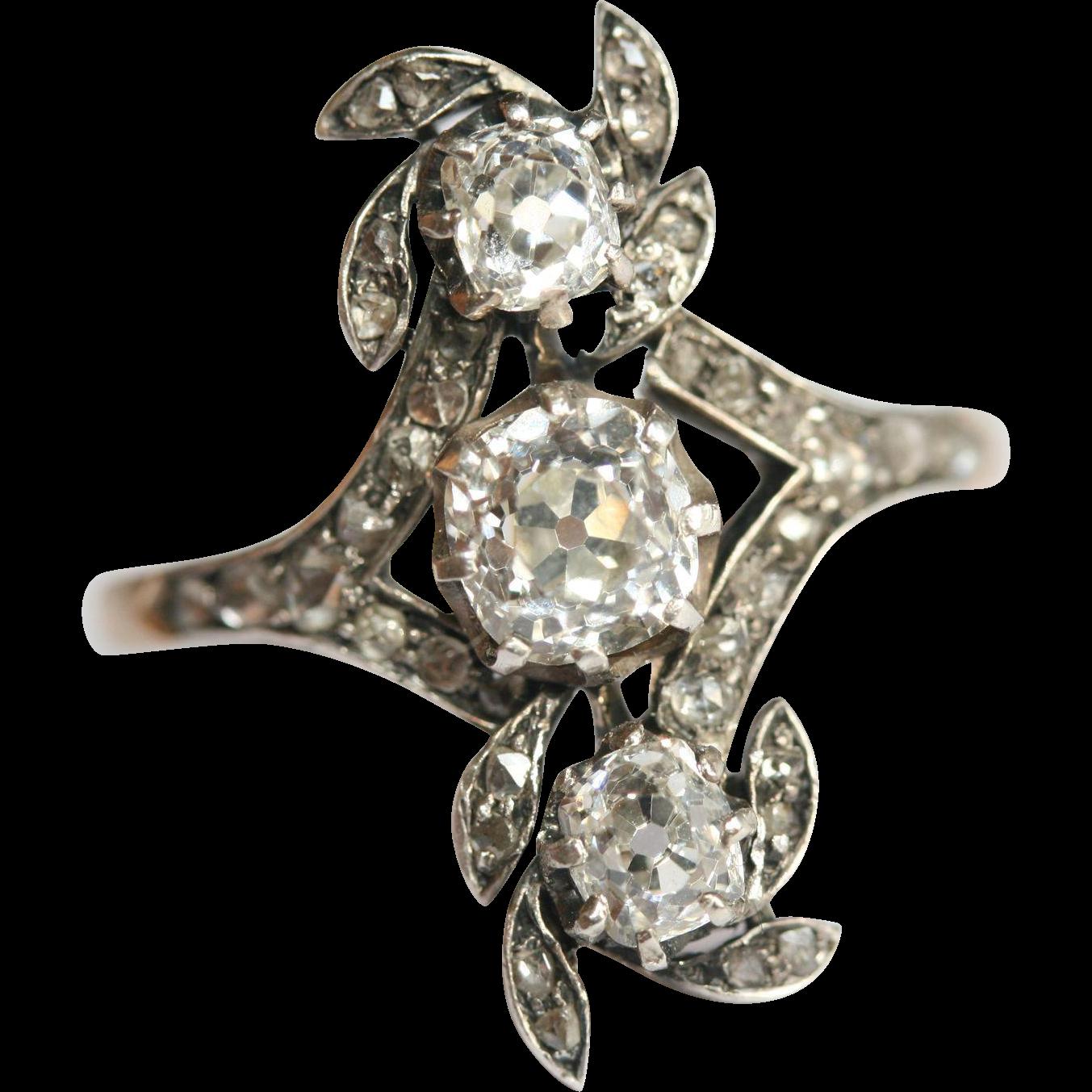SENSATIONAL Fine Antique Austro-Hungarian 14 carat gold ...