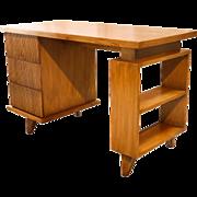 American Of Martinsville Bamboo Desk