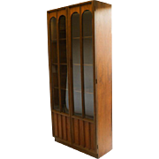Beautiful Mid-Century Modern Curio Display Cabinet