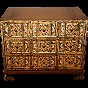 Gilded Dresser chest by William A. Berkey Furniture for Widdicomb