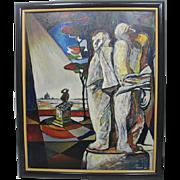 Giorgio Luppi Expressionism Oil Painting