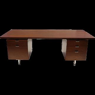 Mid Century Modern Executive Desk George Nelson Herman Miller