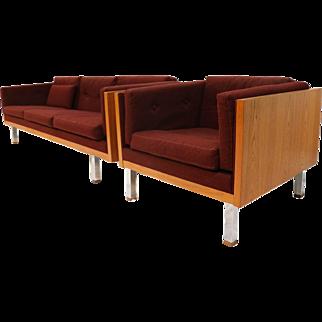 Jydsk Mobelvaerk Mid Century Teak Case Lounge Chair