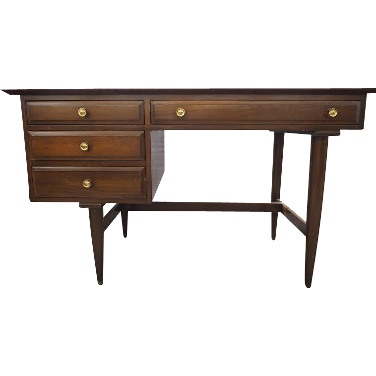 Mid Century Cherry Desk By Willett