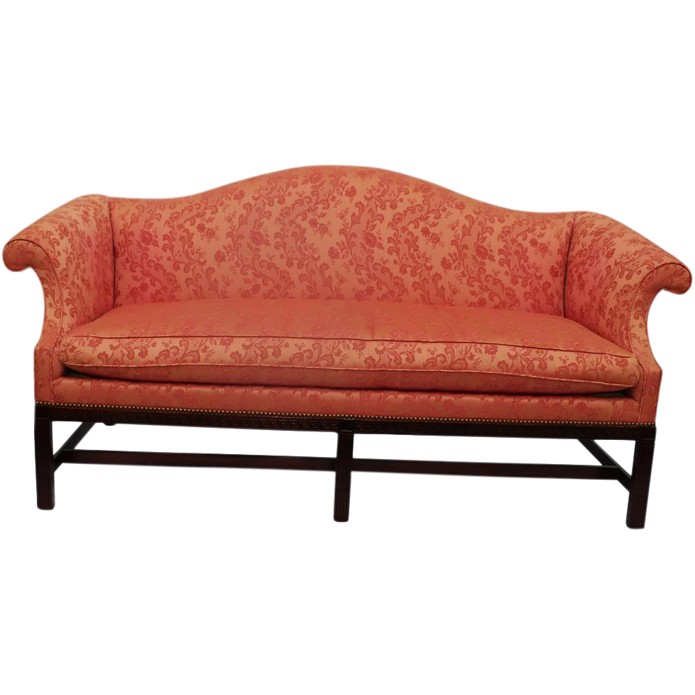 Mahogany Chippendale Camelback Sofa from marykaysfurniture on Ruby ...