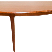 Mid-Century Danish Johannes Andersen Teak Coffee Table