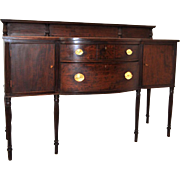 Mahogany Federal Style Sideboard By: Potthast FURN. Co