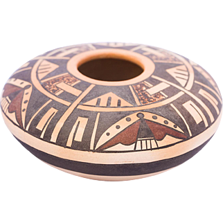 Native American Hopi pottery Seed bowl Attributed to Gloria Mahle