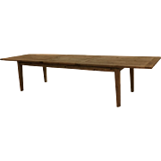 Parsons Rectangular Reclaimed old  Wood Dining Table