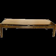 Mid-Century Modern Bassett Walnut Coffee Table