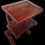 """Table A Ecrire with """"Mon Alph Giroux Paris"""" Plaque, 19th Century"""