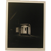 "Original Photograph Robert Pyle ""Porch Light, Maine""  Pencil Signed"