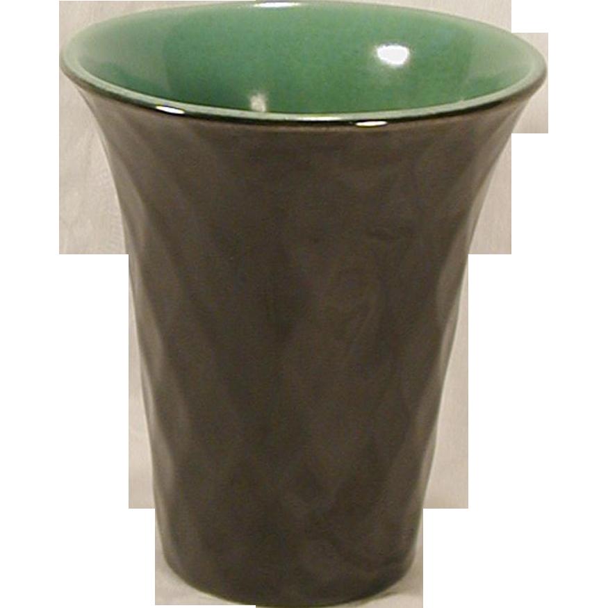 rookwood 1930 art deco style vase 6174 high gloss black. Black Bedroom Furniture Sets. Home Design Ideas