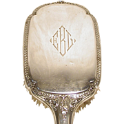 Art Deco Sterling Silver Hair Brush
