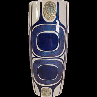 Royal Copenhagen Vase 450/3116 Inge-Lise Koefoed Mid Century Danish Modern