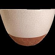 Barbara Willis Pottery Bowl Mid Century Modern California