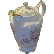 Haviland Limoges Schleiger 270 Miramar Chocolate Pot