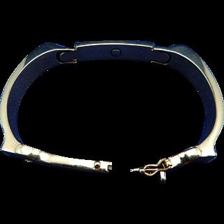 Estate 14 Karat Mens Bracelet