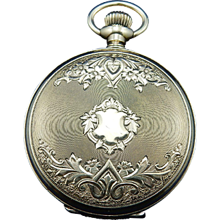 Vintage Circa 1890's Ladies Pocket Watch