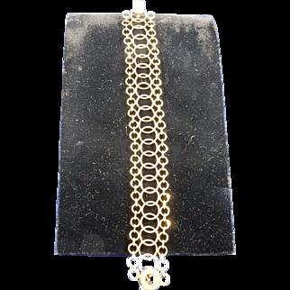 Vintage European 14k Gold Bracelet