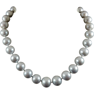 Strand of Large Fresh Water Pearls
