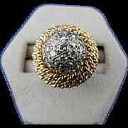 18k Diamond Dome Ring