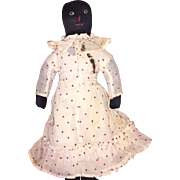 Wonderful Antique Folk Art Americana Cloth Doll