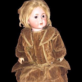 Rare Simon and Halbig 120 Bisque Character Doll